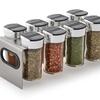 Kamenstein Stainless Steel 8-Jar Spice Rack