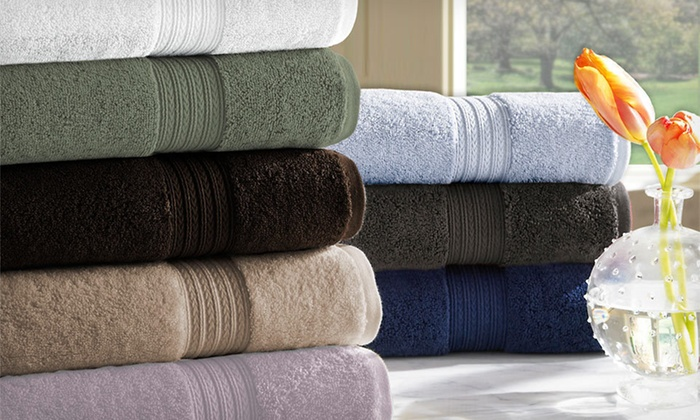Kassadesign Egyptian-Cotton Towel Set: $29 for a Kassadesign Six-Piece 100% Egyptian-Cotton Towel Set ($80 List Price). Nine Colors Available.