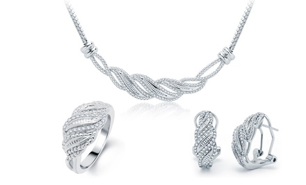 1/2 CTTW 3-Piece Diamond Jewelry Sets