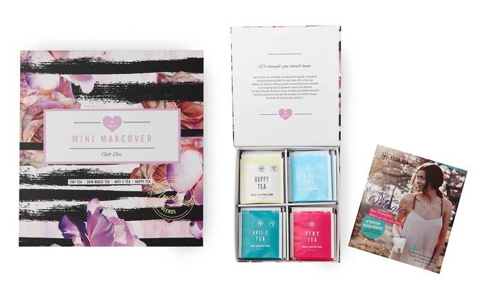Mini Makeover Tea Gift Box (12-Piece)