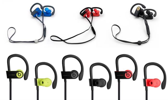 Beats By Dr Dre Powerbeats 3 Wireless Bt Earbuds Refurb A Grade Groupon