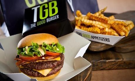 Menú hamburguesa para 2 o 4 con acompañamiento,principal y bebida o refresco ilimitado desde 12,95€ en TGB Maestro Clavé