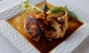 Le Pont Saint Etienne: Menu gourmet en trois services pour 2 personnes à 44,50 € au restaurant Le Pont Saint-Etienne