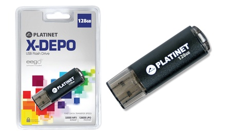 1  o 2 memorias USB 128 GB Platinet