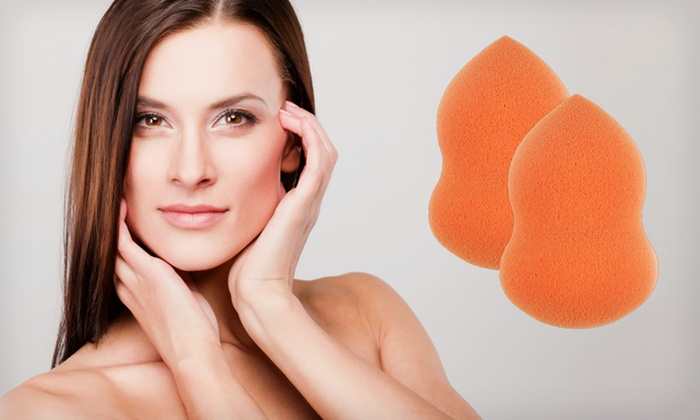 Two-Pack of Makeup-Blending Sponges: $9 for a Two-Pack of Beauté Basics Perfect Blender Makeup Sponges ($39.90 List Price). Free Returns.
