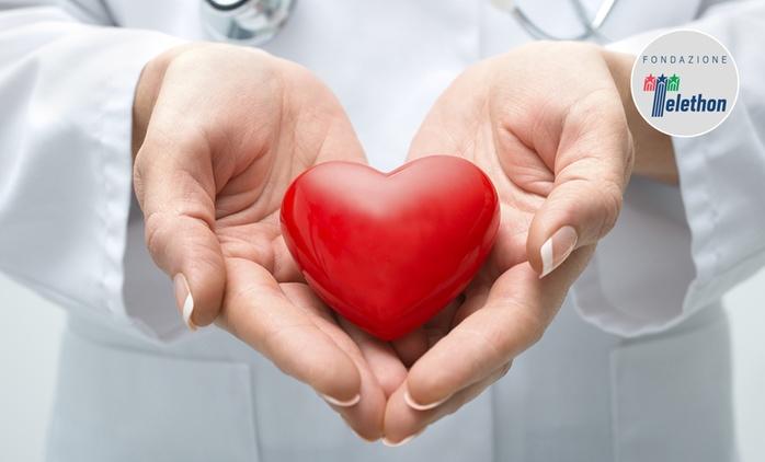 Check up cardiologico con ecografia ed elettrocardiogramma in zona Piazza Bologna (sconto fino a 79%)