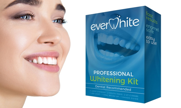 Up To 88 Off On Everwhite Teeth Whitening Kit Groupon Goods
