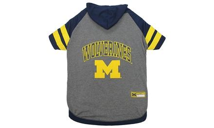 NCAA Pet Hoodies (Michigan)