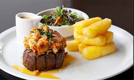 Steak Meal with Wine for Two or Four at Villa Toscana (Up to 60% Off)