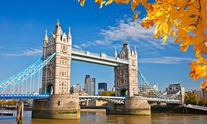 ✈ 5- or 6-Day London Vacation with Air from Great Value Vacations at London Vacation with Hotel and Air from Great Value Vacations, plus 6.0% Cash Back from Ebates.