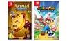 Groupon Goods Global GmbH: Ubisoft Rayman Legends Definitive Edition o Mario Rabbids Kingdom Battle per Nintendo Switch con spedizione gratuita