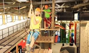 Vesúbia Mountain Park: Entrée parcours acrobatique en hauteur Indoor pour 2 ou 4 personnes dès 19,90 € au Vesúbia Mountain Park