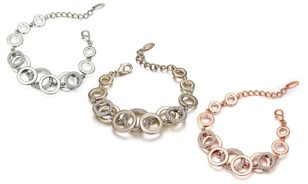 Layer Circle Bracelets Made with Crystals from Swarovski®