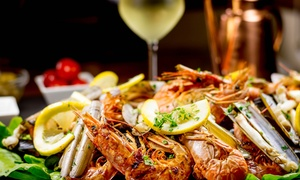 South Street Ale House: Seafood Platter: 2 ($45) or 4 Ppl ($89), to Add Wine: 2 ($55) or 4 Ppl ($109), South Street Ale House (Up to $168 Value)