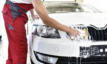 image for Standard Hand Wash ($11) or Full Detailing Package with Hand Polish ($45) at Speed Car Wash (Up to $95 Value)