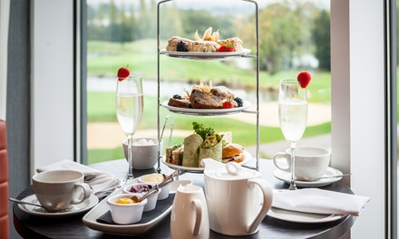 Afternoon Tea with Optional Prosecco for Two or Four at Lakeview Bar at Hilton Ageas Bowl