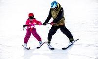 Curso de 2, 4 o 6 horas de esquí o de snowboard con alquiler de equipo para 1 o 2 desde 29,90 € en Surfin