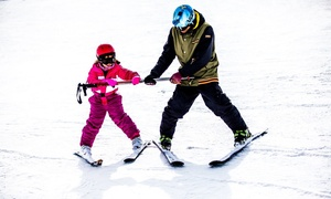 Surfin: Curso de 2, 4 o 6 horas de esquí o de snowboard con alquiler de equipo para 1 o 2 desde 29,90 € en Surfin
