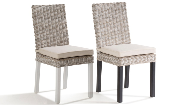 chaise darius rotin tress groupon shopping. Black Bedroom Furniture Sets. Home Design Ideas