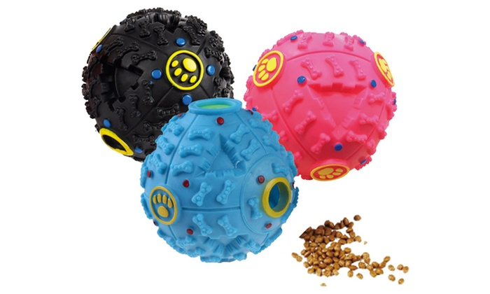 Wiggle Giggle Ball For Pets Groupon Goods