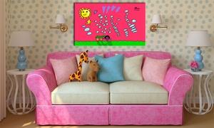 Fantacuadro: Paga 4,99 € y obtén un descuento del 50% para lienzos infantiles personalizados en Fantacuadro