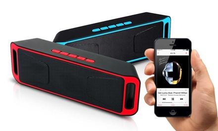 1 o 2 mini-altavoces Bluetooth 6W