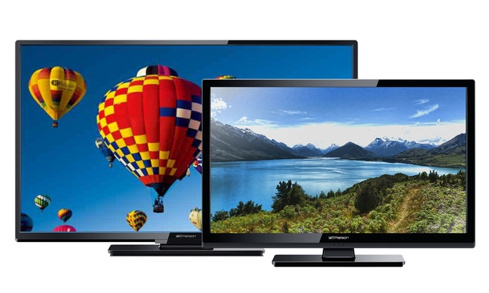 up to 43 off on emerson 32 or 40 led hdtv groupon goods rh groupon com Emerson TV Menu Emerson 40 HDTV