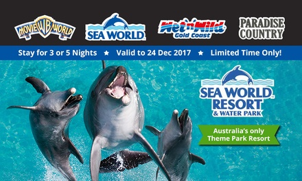 Sea World Resort & Water Park: 3 or 5Night AwardWinning Stay + Unlimited Theme Park Entry, Gold Coast Queensland