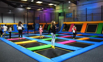 Entry to Trampoline Park for Up to Six at iBounce Trampoline Park Cornwall (Up to 26% Off)