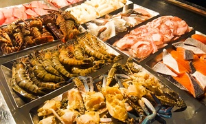 Barefoot Lounge at 5* Dubai Marine Beach Resort & Spa: 5* Barbecue Buffet with Drinks for One or Two with Optional Pool and Beach Access (Up to 56% Off)