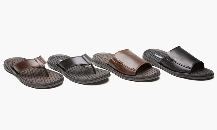 1693c5b4b Unlisted by Kenneth Cole Men s Slip-On or Thong Pacey Sandal (8   10