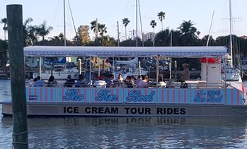 Up to 20% Off Ice Cream/ Dolphin Tour from Clearwater Fun Boat