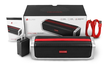 Owlee Stealth360 Bluetooth 4.1 NFC Wireless Speaker with 3D Sound