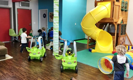 Three or Five Kids Indoor-Play Passes at The Great Escape Club (50% Off)