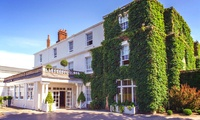 Cheshire: 1 Night for Two in Classic Room with Breakfast and MC Dinner with Glass of Sparkling Wine pp