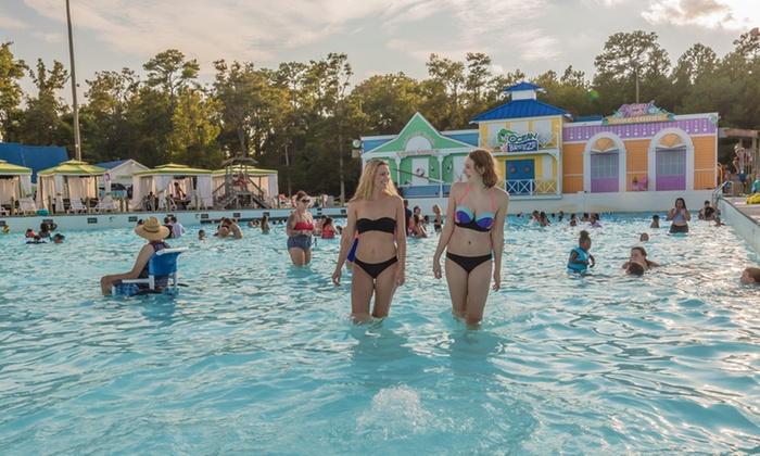 Ocean Breeze Waterpark In Virginia