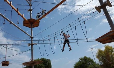 Entrada al parque de aventuras para adultos y juniors o niños desde 29,95 € en Everest Costa Brava