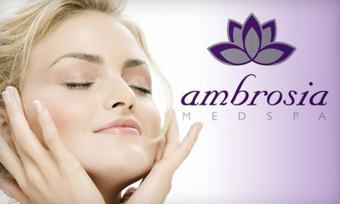 Ambrosia MedSpa - South Juanita: Skincare Treatments at Ambrosia MedSpa. Choose from Three Options.