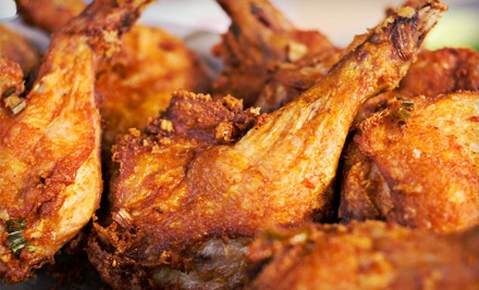 Two Fried Chicken Dinners with Two Sides  - MP's Soul Food Eatery in North Hollywood