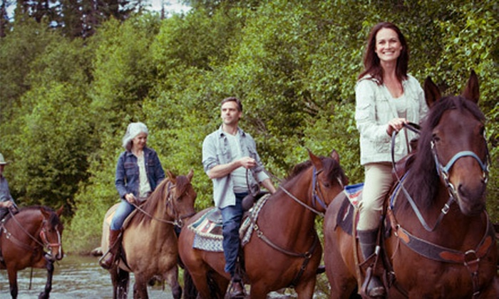 Garden Valley Trail Rides - Garden Valley: Trail Ride from Garden Valley Trail Rides (Up to 54% Off). Three Options Available.