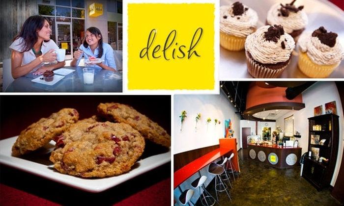 Delish Cupcakes - Downtown: $15 for $35 Worth of Cakes in Cups at Delish Cupcakes