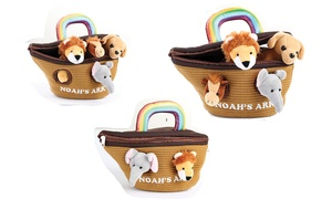 Noah's Ark Plush Talking Playset (5-Piece)
