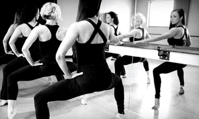 Purely e barre + pilates - Highlands/Perkins: 5 or 10 Fitness Classes at Purely e barre + pilates (Up to 56% Off)