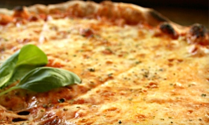 Cinebarre - Asheville: $15 for $30 Worth of Pizza, Burgers, and Drinks at Cinebarre