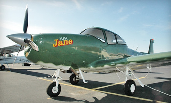 Boston Warbird Rides - Mansfield: $179 for a 45-Minute Vintage-Plane Ride for Two from Boston Warbird Rides in Mansfield ($400 Value)