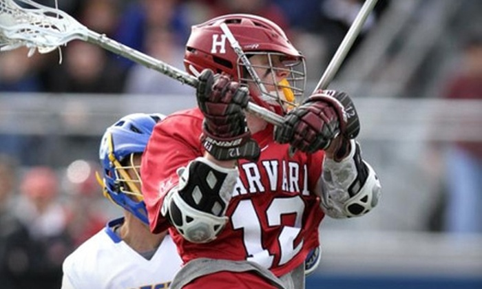Harvard Men's Lacrosse - Allston: General-Admission Tickets and More to Harvard Men's Lacrosse Game in Allston. Two Games Available.