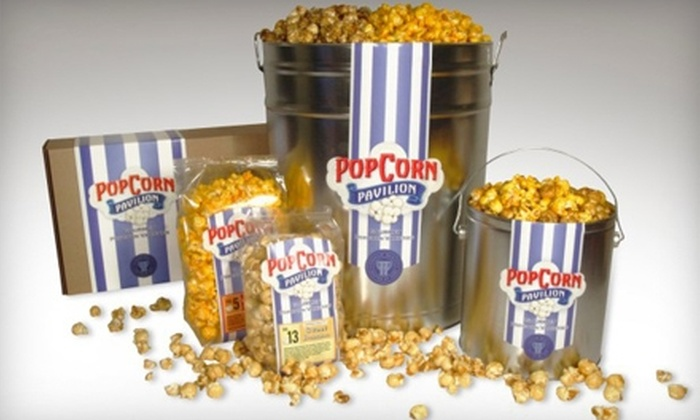 Popcorn Pavilion - West Bellevue: $9 for a Classic Gift Box ($18.95 Value) or $6 for $12 Worth of Gourmet Popcorn at Popcorn Pavilion in Bellevue