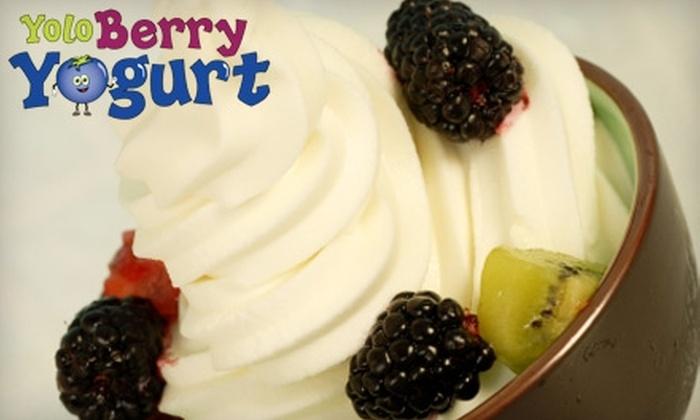 Yolo Berry Yogurt - Downtown Core: $4 for $8 Worth of Self-Serve Frozen Yogurt and Toppings at Yolo Berry Yogurt in Davis