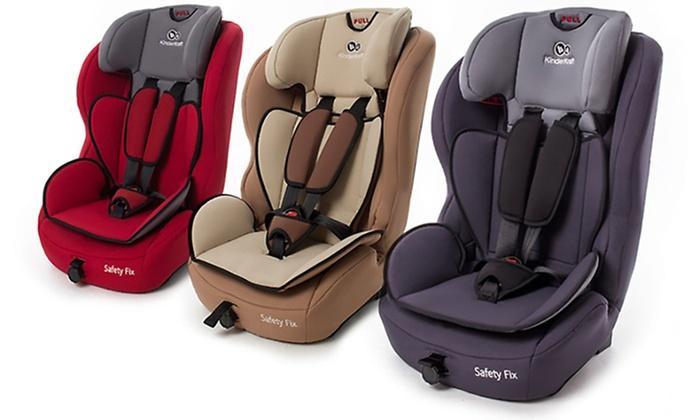 Silla de coche para ni os kinderkraft groupon goods for Ofertas de sillas de coche para ninos