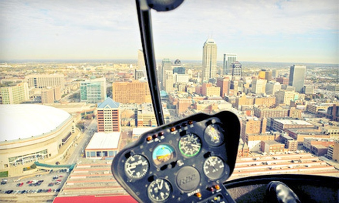 Freedom Helicopters - Fishers: $79 for a Helicopter Flight Lesson or Helicopter Tour from Freedom Helicopters in Fishers (Up to $159 Value)